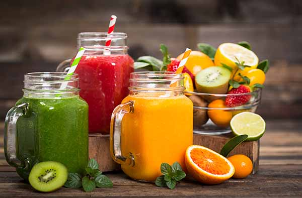 Juice from fruits