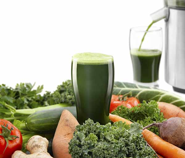 Juicing your greens